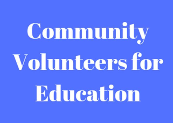 Community Volunteers for Education Current News Carousel Image