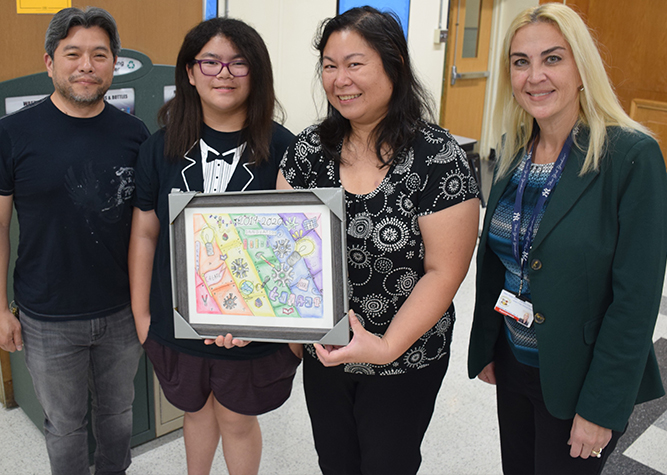 Innovative artist wins NHP-GCP calendar cover contest Current News Carousel Image