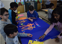 Students Prep for Mural on Unity and Kindness photo  thumbnail161649